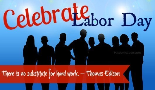 picture of labor day poster