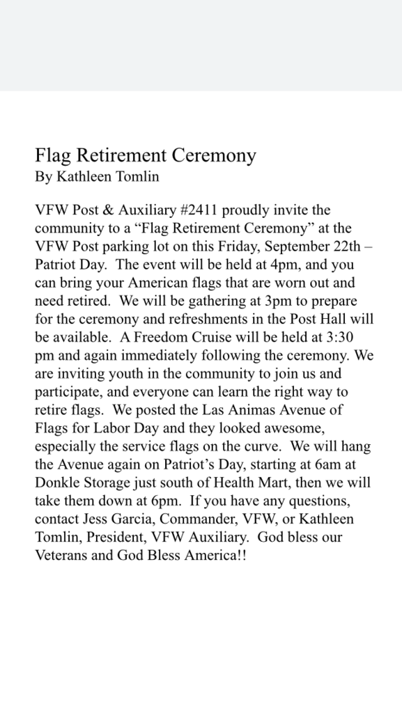 VFW article